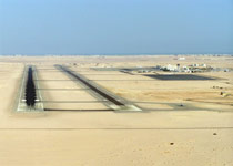 Image of the Hurghada airport runway.
