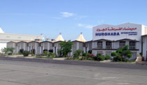 Image of the Hurghada airport passenger terminal, 2003