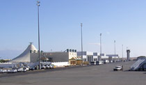 Image of the Hurghada airport passenger terminal, 2006.