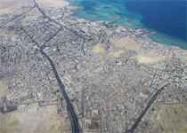 Image of the Hurghada city.