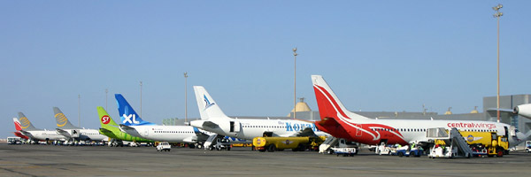 HURGHADA International Airport: web site, phone and fax number, live flight information, airport map, airport photos.