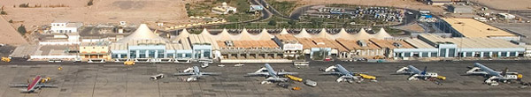 Hurghada International Airport view